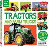 Tractors and Farm Trucks: Includes 9 Chunky Books (Look, Read, Learn)