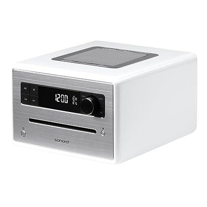 Sonoro sonoroCD Radio Bluetooth/CD/USB/FM/DAB+ Blanc
