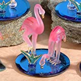 Unison Gifts CR-3057 4 H In. Double Flamingos