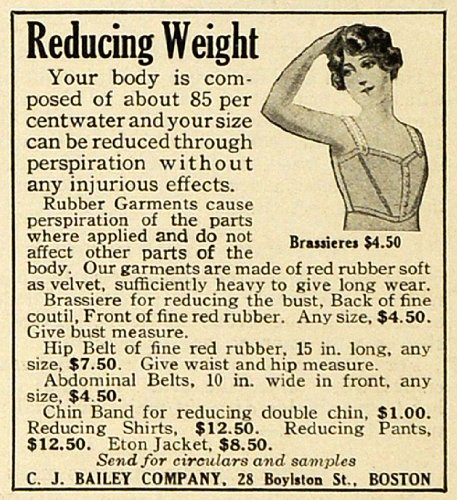 1919-ad-weight-loss-reducer-rubber-garments-brassiere-corset-shirts-pants-bailey-original-print-ad