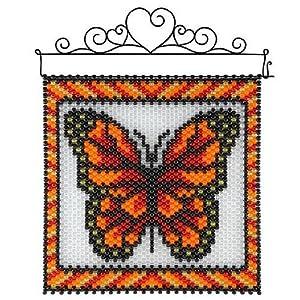 herrschners butterfly beaded banner kit