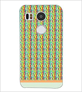 PrintDhaba Pattern D-1219 Back Case Cover for LG NEXUS 5X (Multi-Coloured)