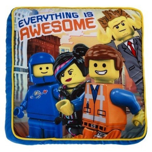 New The Lego Movie Everything Is Awesome Plush Blanket