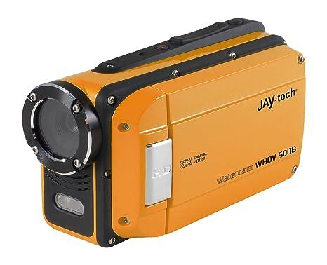 JayTech Camcorder DVH-5J7 7.6 cm (3 Zoll) 16 Mio. Pixel Opt. Zoom: 5 x noir