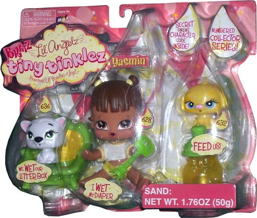 Bratz Lil' Angelz Tiny Tinklez ~ Yasmin with Racoon and Dog - Buy Bratz Lil' Angelz Tiny Tinklez ~ Yasmin with Racoon and Dog - Purchase Bratz Lil' Angelz Tiny Tinklez ~ Yasmin with Racoon and Dog (Bratz, Toys & Games,Categories,Dolls,Playsets,Fashion Doll Playsets)