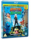 Monsters vs Aliens [Blu-ray]