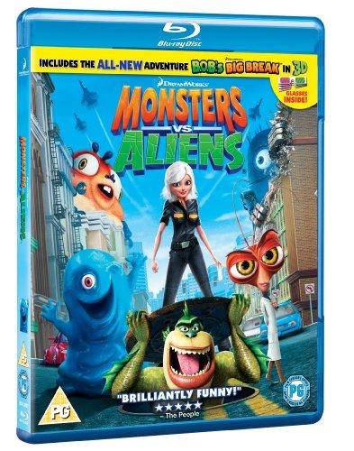 gt monsters vs aliens bluray dvds 123pricecheckcom