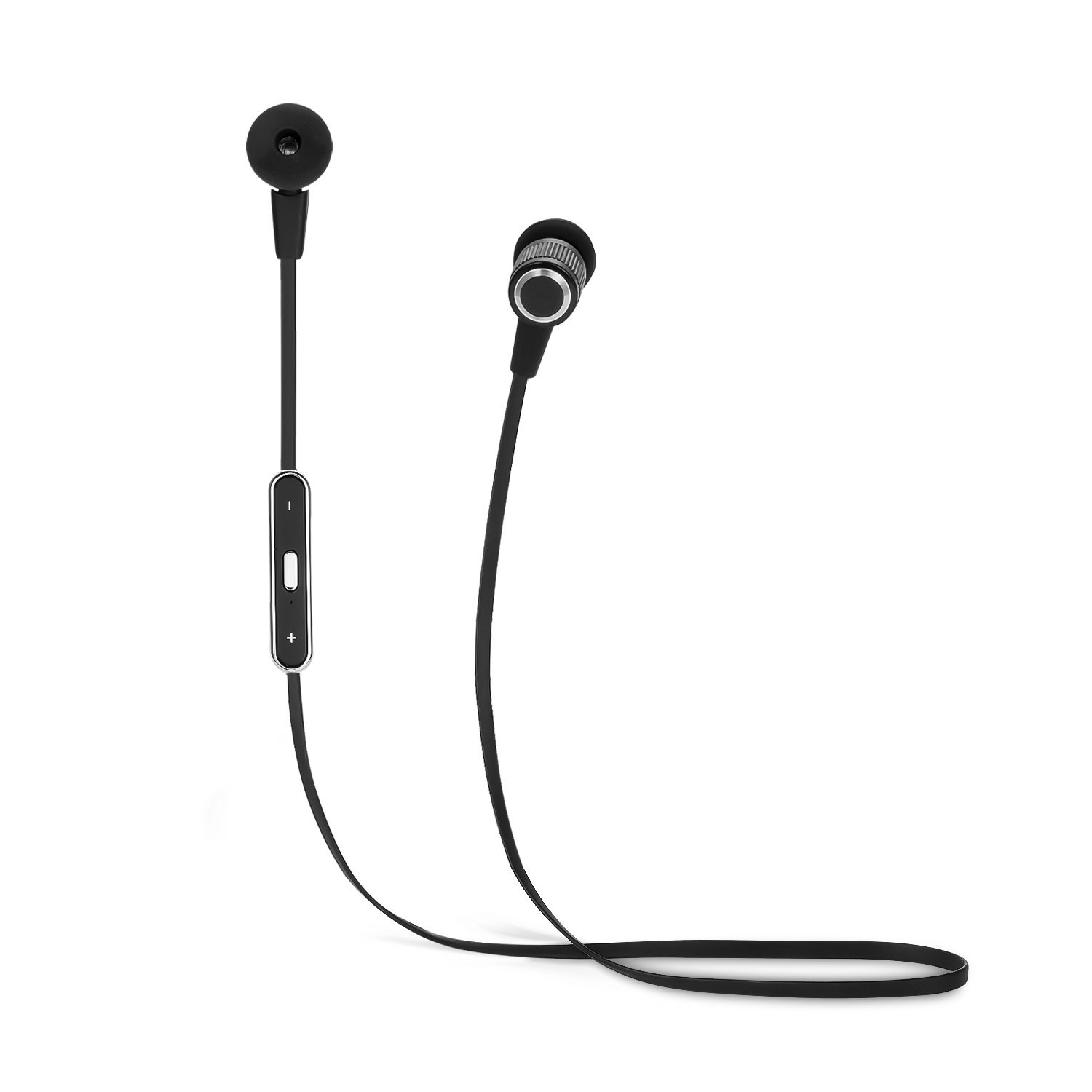 SUFUM In-ear Earbuds Wireless Bluetooth In-ear Earphones Sport Headphones (Black)