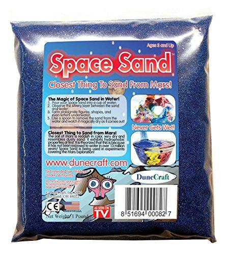 Dunecraft Space Sand Domed Terrarium, Blue, 1 lb