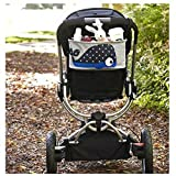 B&Y Animals Baby Toddler Stroller Organizer Buggy Hanging Bag holds Beverage water Diaper cell phone Toys Baby formula Storage Stroller Accessory (Type2)