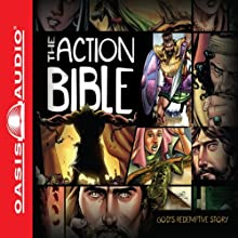 The Action Bible Audiobook by David C. Cook, Doug Mauss (editor), Sergio Cariello Narrated by Todd Busteed