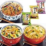 無添加 フリーズドライ 丼 3種類6食セット (親子丼・中華丼・麻婆なす丼) (アマノフーズ フリーズドライ 丼)