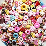 LOVEKITTY TM 20 Pieces Mixed lot Food Resin Flatback Kawaii Cabochons Decoden Pieces
