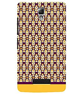 PrintDhaba Pattern D-1631 Back Case Cover for LENOVO A2010 (Multi-Coloured)
