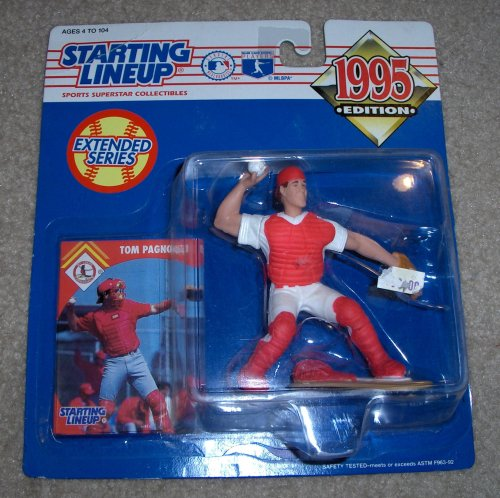 1995 Tom Pagnozzi MLB Starting Lineup Extended Series Figure [Toy]