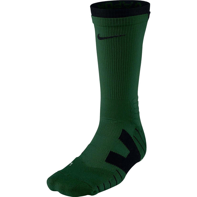 Nike Unisex Vapor Football Knee High Gorge Green/Black/Black Socks XL (Men's Shoe 12-15) nike men s lil penny knee high living large t shirt small black
