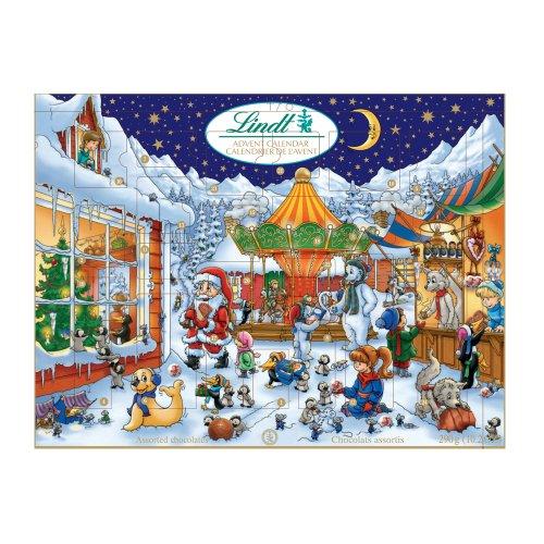 German Advent Calendars With Chocolate Calendar Template