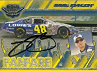 Jimmie Johnson Autographed/ Hand Signed Nascar Trading Card