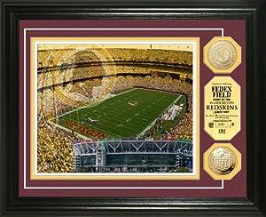 NFL Washington Redskins Stadium Gold Coin Photo Mint by Highland Mint