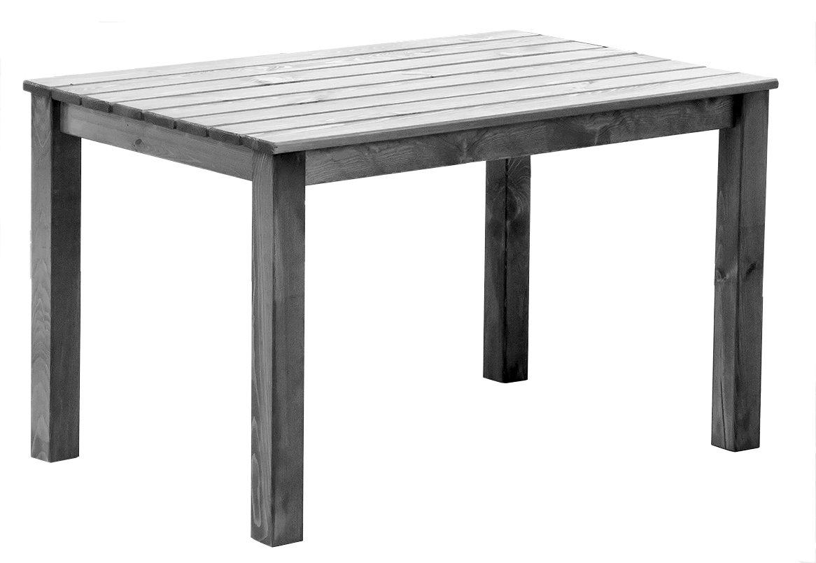 Ambientehome Tisch OSLO, 116 x 77 x 70 cm, grau