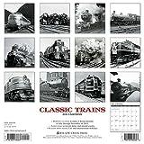 2016 Classic Trains Wall Calendar