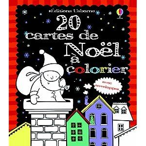 20 cartes de voeux � colorier