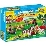 Playmobil - 4167 - Calendrier de L'Avent - Ferme Équestre avec Surprises Inédites