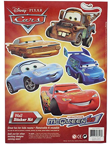 Disney Cars Wall Sticker Kit