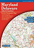 Maryland/Delaware Atlas & Gazetteer (089933279X) by Delorme