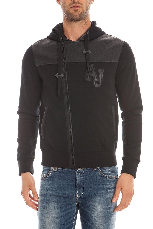ARMANI JEANS Sweatshirtjacke mit Zipper B6M71 BX B6M71 BX Herren günstig kaufen