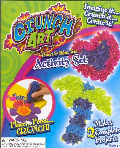 Little Kids Crunch Art Activity Set Assorted Styles