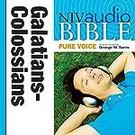 NIV Audio Bible, Pure Voice: Galatians, Ephesians, Philippians, and Colossians    Zondervan
