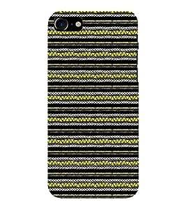 EPICCASE zebra lines Mobile Back Case Cover For Apple iPhone 7 (Designer Case)