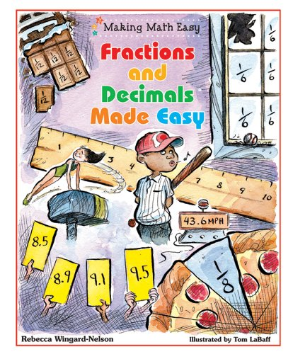 Fractions and Decimals Made Easy (Making Math Easy) (Fractions Made Easy compare prices)
