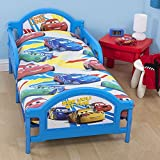 Disney Pixar Cars - Juego de Fundas n�rdico/edred�n Modelo Speed camas peque�as para ni�os (120x150cm/Multicolor)
