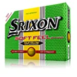 New Srixon Soft Feel Tour Yellow Golf...