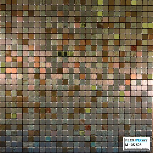 flexipixtile-modern-aluminum-mosaic-tile-peel-stick-backsplash-accent-wall-1-sqftthe-palace