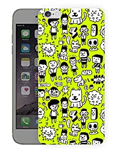 """Humor Gang Kid Days Cute Printed Designer Mobile Back Cover For """"Apple Iphone 7"""" (3D, Matte, Premium Quality Snap On Case)"""