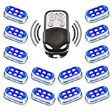Premium Motorcycle Engine & Ground 84 LED Neon Accent Light Kit with 4-key Remote - Blue