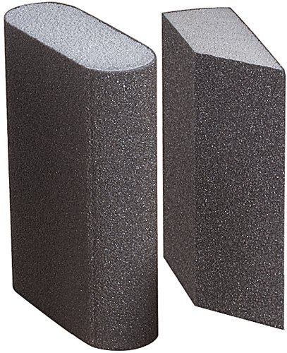 A&H Abrasives 959911, Sanding Accessories, Hand, Sanding Sponge-Medium Combo, Package Of 10