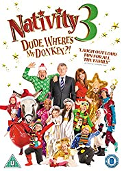 Nativity 3: Dude, Where's My Donkey?! [DVD] [2015]