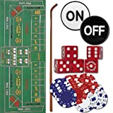 Trademark Craps Set - All The Pieces To Play Now Craps Set, Multi