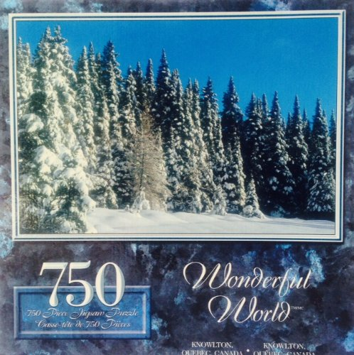 Wonderful World Snow White Forest in Knowlton, Quebec, Canada 750pc. Puzzle - 1