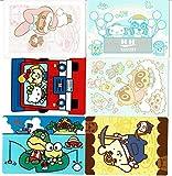 とびだせ どうぶつの森 amiibo+』amiiboカード 【サンリオキャラクターズコラボ】おまけシール 全6種