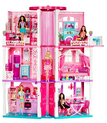 61Jj8zPf VL barbie dream house girls toy set features by mattel Barbie Dreamhouse at bayanpartner.co