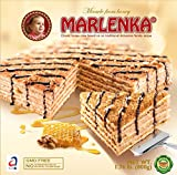 HONEY Cake MARLENKA® with Walnuts - 100% NATURAL - 800g