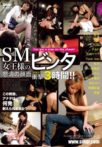 SM女王様のビンタ 怒涛の顔面衝撃3時間!! [DVD]