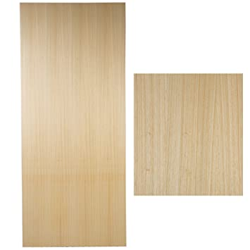 High Quality Solid Wooden Interior Door - Light Wood Finish 926mm x 2040mm x 60mm