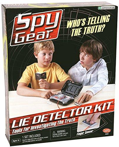Spy Gear Lie Detector Kit (Spy Gear Kit Lie compare prices)
