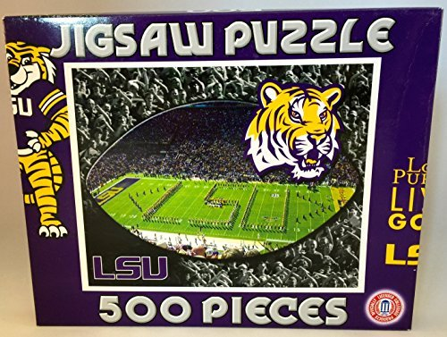 "NCAA Louisiana State University LSU Tigers 16""x20"" 500 Piece Puzzle - 1"